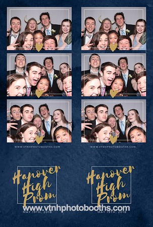 Photo Strips - 5/19/18 - Hanover Prom