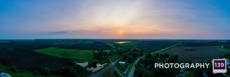 Drone Photography - Kamrar, Iowa