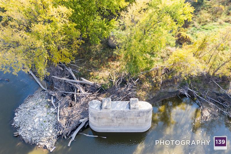 Rodan 139: Kate Shelley's Bridge Remains