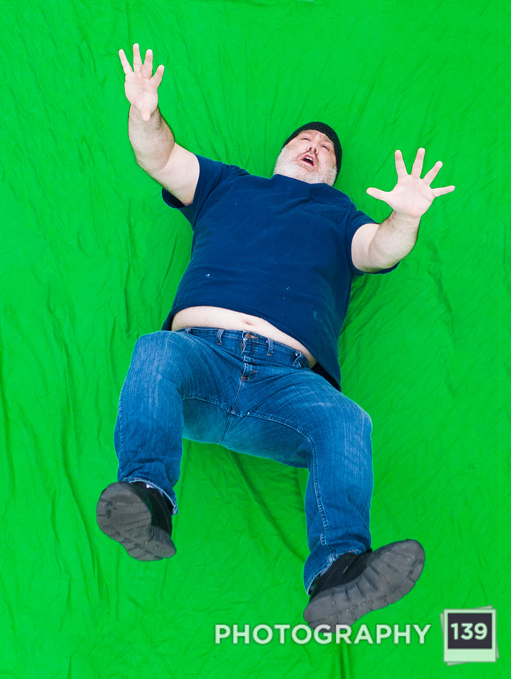 Falling Green Screen