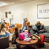Burnett House; Day Student area for lounging, storage, studying Publications-Annual Report