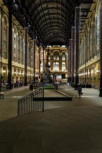 Hay's Galleria At Night