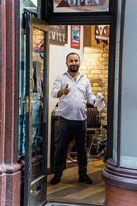 The Friendly Barber at Pasha Barbers