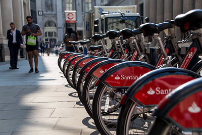 Santander Bikes For Rent