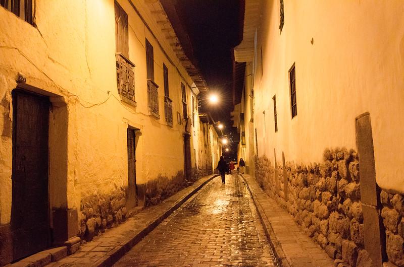 Alley in Cusco, Peru
