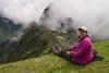Jeanne at Macchu Picchu, Peru