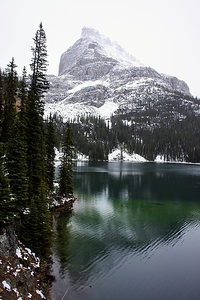 Lake O'Hara and Wiwaxy Peaks