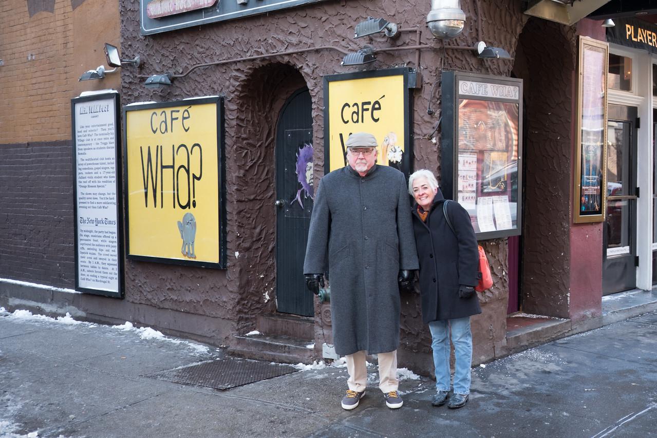 Paul and Laura Agabashian in Greenwich Village