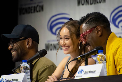Lenny James, Alycia Debnam-Carey, & Colman Domingo