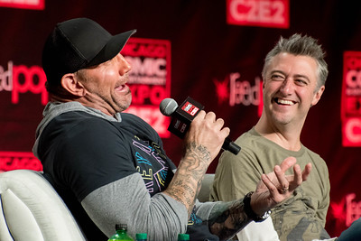 Dave Bautista and Sean Gunn