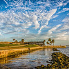 St Augustine Harbor View by Adelet Kegley