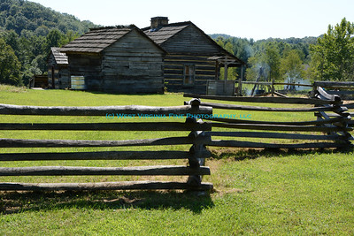 Mountain Home Place at Paintsville Lake State Park in Kentucky.