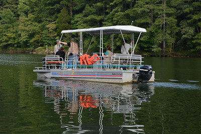 Pontoon Cruise on Dewey Lake at Jenny Wiley State Resort Park.