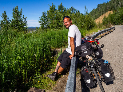 6.20.2018 Meet Max (He's from France and is riding his bike from Anchorage to San Diego - 5 months)