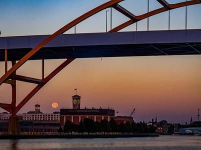 6.28.2018 Polish Moon + Strawberry moon