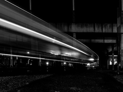 2018.10.19 The train is leaving the station