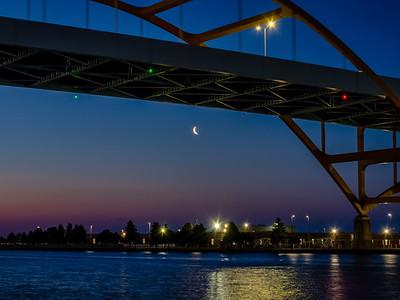 4.18.2020 Crescent Moon