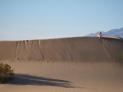 2.25.2020 Guitar Girl on Mesquite Dune