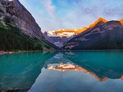 9.6.2019 Obligatory Lake Louise sunrise