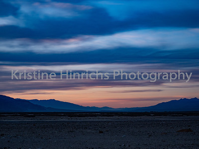 2.27.2020 Clouds at Death Valley Sunset