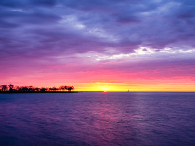 4.27.2020 Sunrise in Rainbow Colors