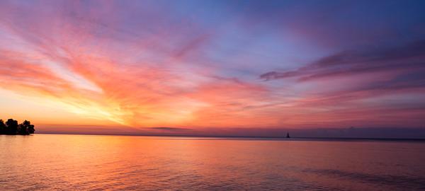 6.27.2020 Sailing into the sunrise