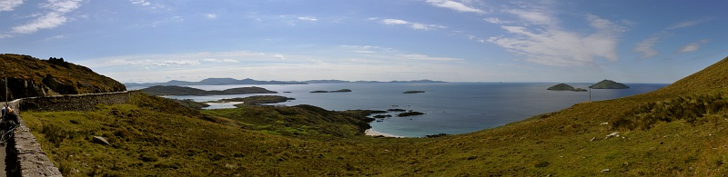 14 Sept: Ring of Kerry. This is one many vantage points.