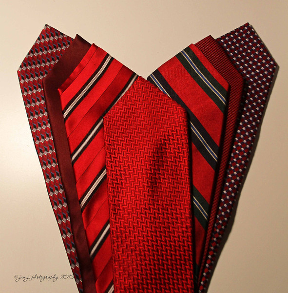 February 14 - N is for Neckties...Happy Valentine's Day!