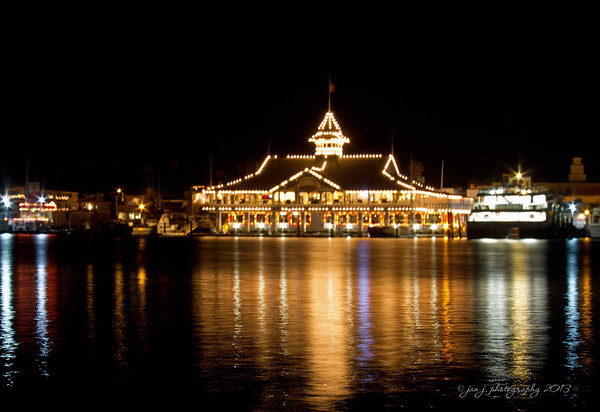 December 9 - Had dinner with a friend on Balboa Island (note to self...next time don't put the tripod on a floating dock)