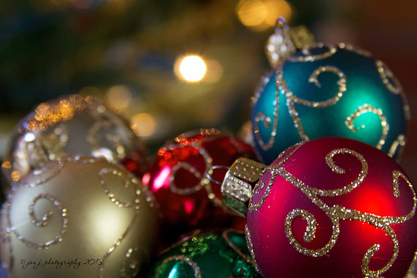 December 10 - I love the lights and colors of the Christmas season.