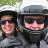 May 5 - Craig and Janice go for a ride.  A little bit of a cheat today - even though I set up the shot with my camera, Craig actually took the picture because his arm is longer.