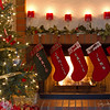 December 20 - ...the stockings were hung by the chimney with care