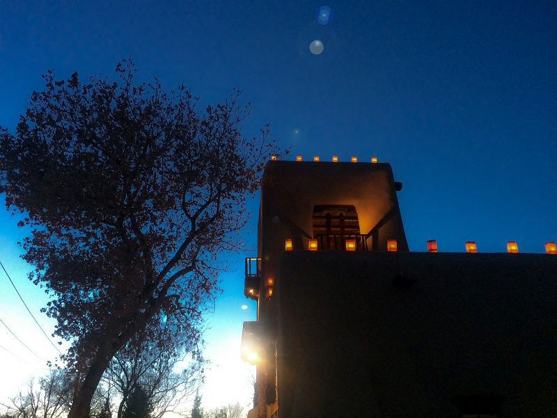28 Nov 2014: Luminaria in Santa Fe
