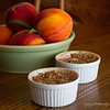 August 24 - Fresh Peach Crisp...only 190 calories!  :-)