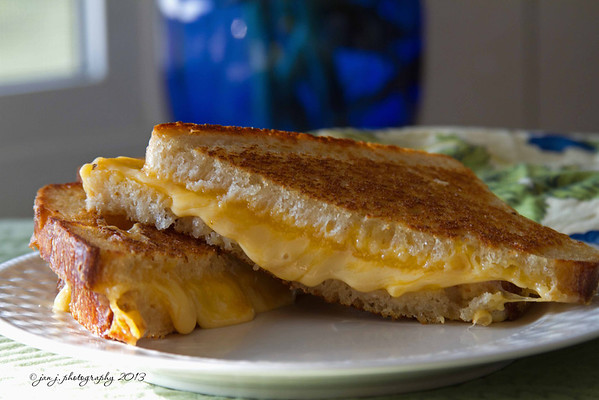 October 23  -  Today was a grilled cheese kind of day.
