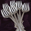April 9 - When I got married, I chose this silverware pattern because I liked the shape of this fork...sort of silly criteria.
