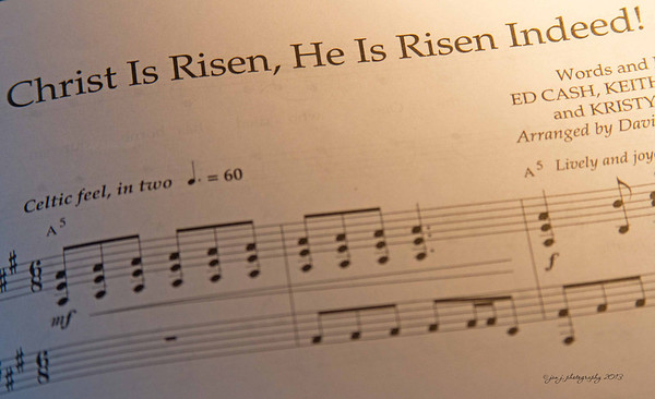 March 31 - One of our choir numbers today.
