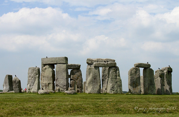 "June 19 - Stonehenge - we wanted to go today before all the ""interesting"" folks began arriving for Summer Solstice."
