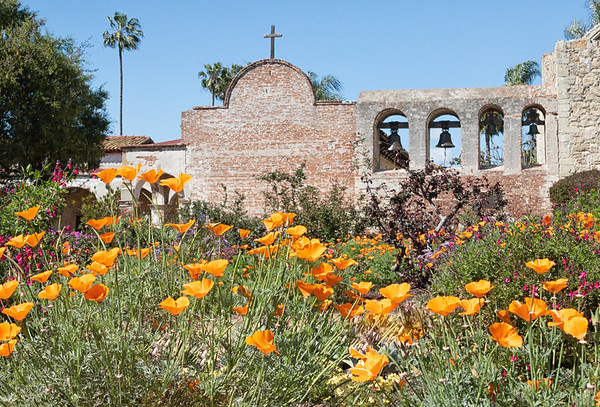 April 11 - So long Mission San Juan Capistrano.  You've provided many good photo opportunities over the years.