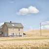 July 19 - A day in The Palouse is a good day.  Craig and I happened upon this old house a few years ago while driving down farm roads. Today we were on a mission to find it again...we were successful!<br /> <br /> ##CY365 - Weathered<br /> Steptoe, WA