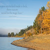 October 12 - Our view this morning as we walked along the banks of Lake Coeur d'Alene...<br /> <br /> #CY365 - Prompt Free
