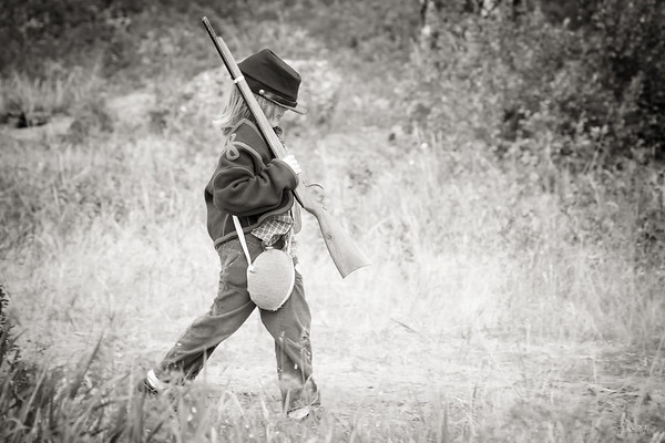 September 7 - The lone little soldier...<br /> <br /> #CY365 - Monochromatic<br /> Battle of Cheney 2019<br /> Cheney, WA