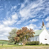 June 6 - There is more than just barns in the Palouse. The Freeze Church in Potlatch, ID built in 1898...