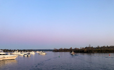 Lake Washington near Husky Stadium