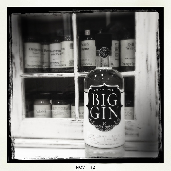 11 Nov 2012: Big Gin
