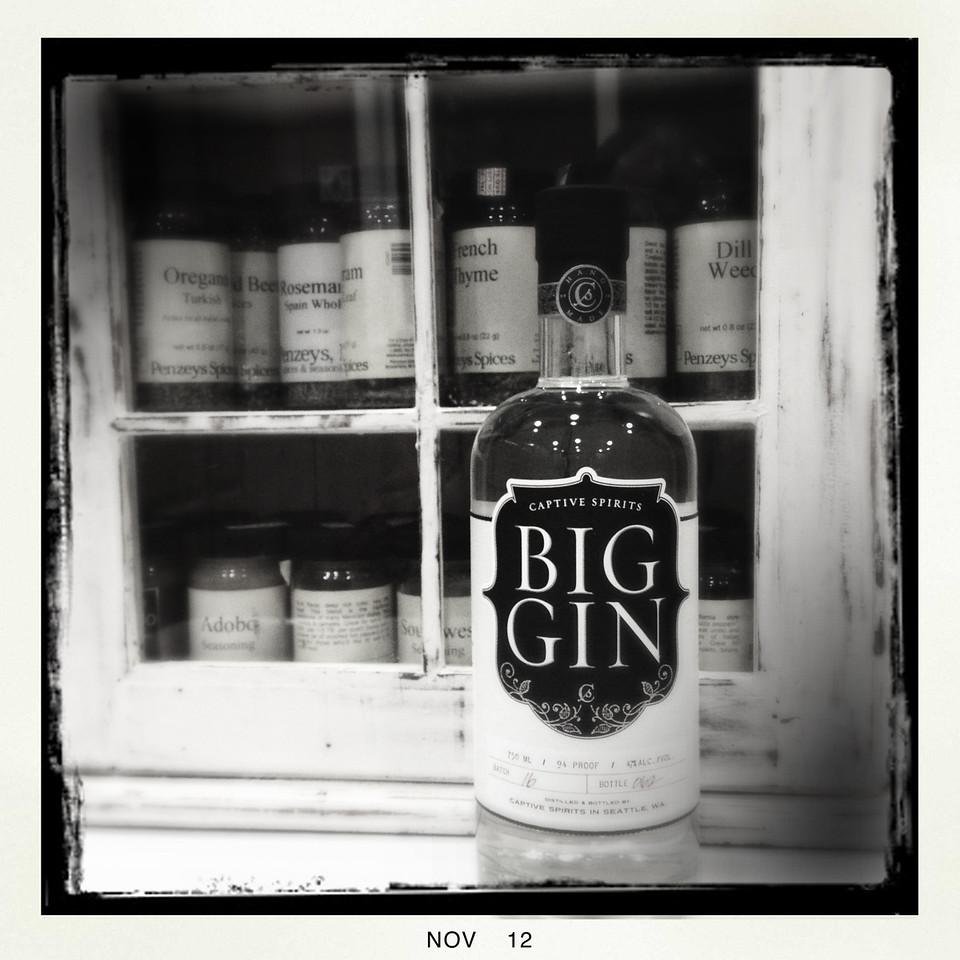 11 Nov 2012: Big Gin