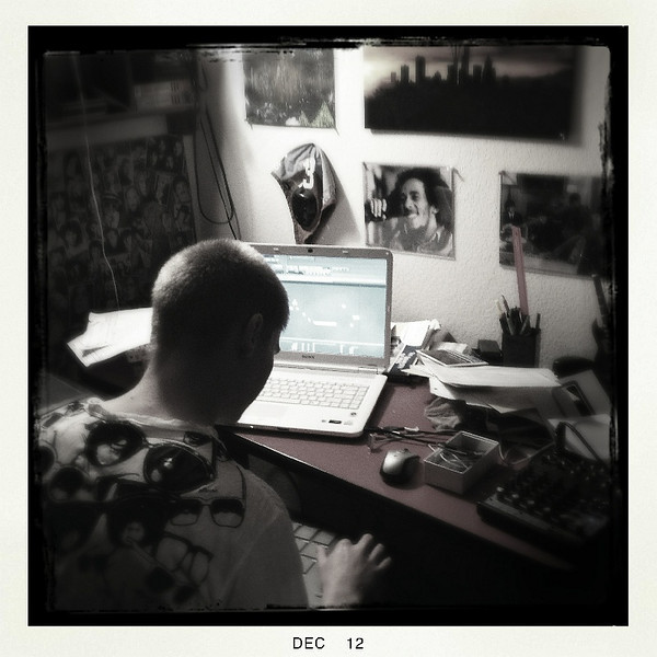 28 Dec 2012: My nephew the record producer