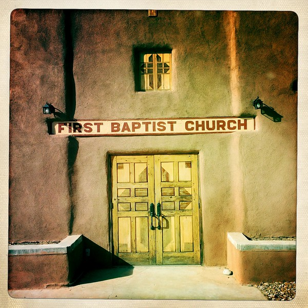 17 Dec 2014: First Baptist Church, downtown Taos