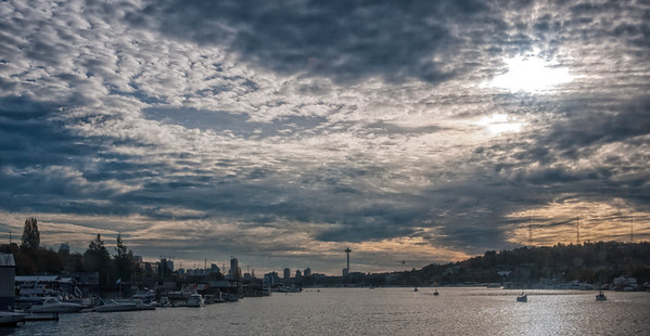 4 Nov 2014: Seattle from Lake Union