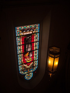 6 Dec 2014: Inside the Loretta Chapel in Santa Fe
